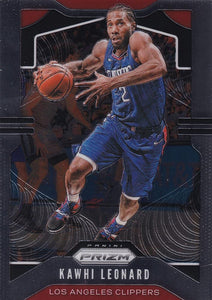 2019-20 Panini Chronicles Basketball Cards #501-699: #505 Kawhi Leonard  - Los Angeles Clippers