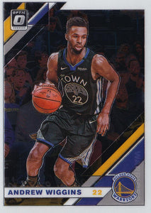 2019-20 Panini Chronicles Basketball Cards #501-699: #511 Andrew Wiggins  - Golden State Warriors