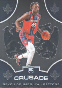 2019-20 Panini Chronicles Basketball Cards #501-699: #524 Sekou Doumbouya RC - Detroit Pistons