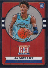Load image into Gallery viewer, 2019-20 Panini Chronicles Basketball Cards #501-699: #550 Ja Morant RC - Memphis Grizzlies