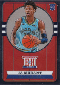 2019-20 Panini Chronicles Basketball Cards #501-699: #550 Ja Morant RC - Memphis Grizzlies