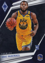 Load image into Gallery viewer, 2019-20 Panini Chronicles Basketball Cards #501-699: #573 Eric Paschall RC - Golden State Warriors