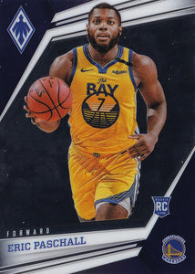 2019-20 Panini Chronicles Basketball Cards #501-699: #573 Eric Paschall RC - Golden State Warriors