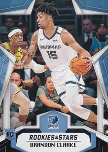 2019-20 Panini Chronicles Basketball Cards #501-699: #669 Brandon Clarke RC - Memphis Grizzlies