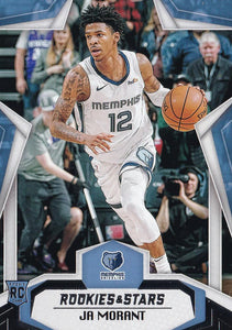 2019-20 Panini Chronicles Basketball Cards #501-699: #681 Ja Morant RC - Memphis Grizzlies