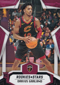 2019-20 Panini Chronicles Basketball Cards #501-699: #687 Darius Garland RC - Cleveland Cavaliers