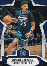 Load image into Gallery viewer, 2019-20 Panini Chronicles Basketball Cards #501-699: #696 Jarrett Culver RC - Minnesota Timberwolves