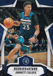 2019-20 Panini Chronicles Basketball Cards #501-699: #696 Jarrett Culver RC - Minnesota Timberwolves