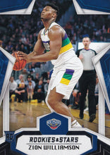 Load image into Gallery viewer, 2019-20 Panini Chronicles Basketball Cards #501-699: #699 Zion Williamson RC - New Orleans Pelicans