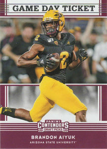 2020 Panini Contenders Draft Picks GAME DAY TICKETS Inserts - Pick Your Cards