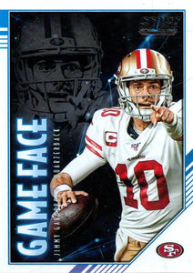 2020 Panini Score NFL Football Cards GAME FACE Insert - Pick Your Cards