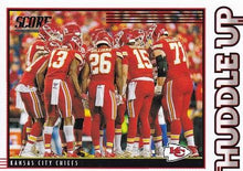 Load image into Gallery viewer, 2020 Panini Score NFL Football Cards HUDDLE UP Insert - Pick Your Cards