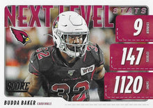 Load image into Gallery viewer, 2020 Panini Score NFL Football Cards NEXT LEVEL STATS Insert - Pick Your Cards