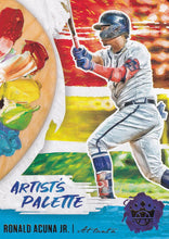 Load image into Gallery viewer, 2020 Panini Diamond Kings Baseball ARTIST'S PALETTE Insert ~ Pick your card