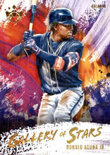 Load image into Gallery viewer, 2020 Panini Diamond Kings Baseball GALLERY OF STARS Insert ~ Pick your card