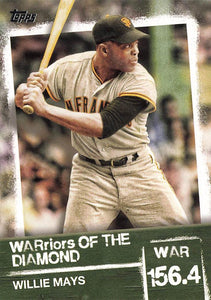 2020 Topps Series 2 WARriors of the Diamond Inserts ~ Pick your card