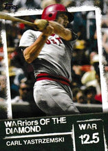 Load image into Gallery viewer, 2020 Topps Series 2 WARriors of the Diamond Inserts ~ Pick your card