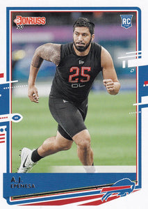 2020 Donruss NFL Football Cards #201-300 ~ Pick Your Cards