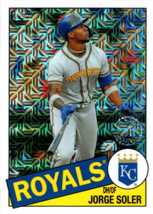 2020 Topps Series 2 Silver Pack 1985 Topps 35th Anniversary Chrome Inserts ~ Pick your card
