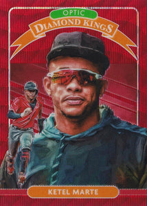 2020 Donruss Optic Baseball RED WAVE PARALLELS ~ Pick your card
