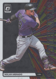2020 Donruss Optic Baseball STAINED GLASS INSERTS ~ Pick your card