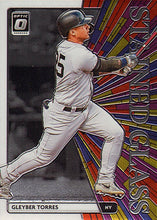 Load image into Gallery viewer, 2020 Donruss Optic Baseball STAINED GLASS INSERTS ~ Pick your card