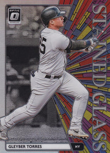 2020 Donruss Optic Baseball STAINED GLASS HOLO INSERTS ~ Pick your card