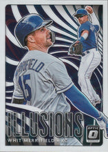 Load image into Gallery viewer, 2020 Donruss Optic Baseball ILLUSIONS INSERTS ~ Pick your card