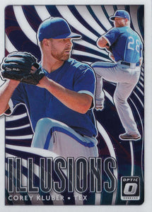 2020 Donruss Optic Baseball ILLUSIONS INSERTS ~ Pick your card