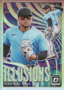 2020 Donruss Optic Baseball ILLUSIONS HOLO INSERTS ~ Pick your card