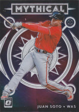 Load image into Gallery viewer, 2020 Donruss Optic Baseball MYTHICAL INSERTS ~ Pick your card