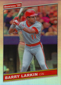 2020 Donruss Optic Baseball RETRO 1986 HOLO INSERTS ~ Pick your card