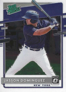 2020 Donruss Optic Baseball RATED PROSPECT INSERTS ~ Pick your card