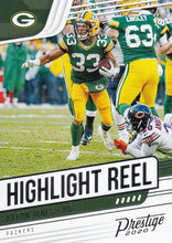 Load image into Gallery viewer, 2020 Panini Prestige NFL HIGHLIGHT REEL INSERTS ~ Pick Your Cards