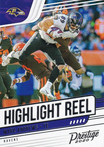 2020 Panini Prestige NFL HIGHLIGHT REEL INSERTS ~ Pick Your Cards