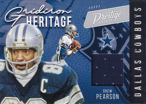 2020 Panini Prestige NFL GRIDIRON HERITAGE RELICS ~ Pick Your Cards