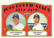 2021 Topps HERITAGE Baseball Cards (301-400) ~ Pick your card