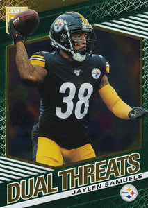 2020 Donruss Elite NFL Football DUAL THREATS GREEN INSERTS ~ Pick Your Cards