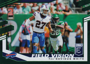 2020 Donruss Elite NFL Football FIELD VISION GREEN INSERTS ~ Pick Your Cards