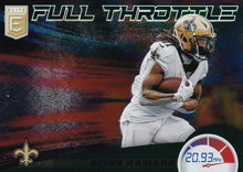 Load image into Gallery viewer, 2020 Donruss Elite NFL Football FULL THROTTLE GREEN INSERTS ~ Pick Your Cards