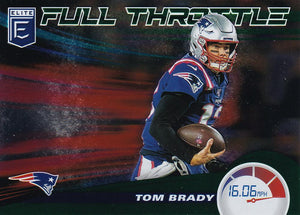 2020 Donruss Elite NFL Football FULL THROTTLE GREEN INSERTS ~ Pick Your Cards