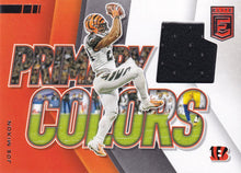 Load image into Gallery viewer, 2020 Donruss Elite NFL Football PRIMARY COLORS RELICS ~ Pick Your Cards