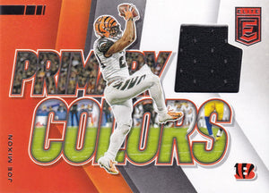 2020 Donruss Elite NFL Football PRIMARY COLORS RELICS ~ Pick Your Cards