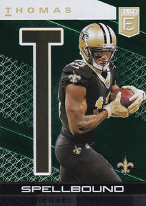 2020 Donruss Elite NFL Football SPELLBOUND GREEN INSERTS ~ Pick Your Cards