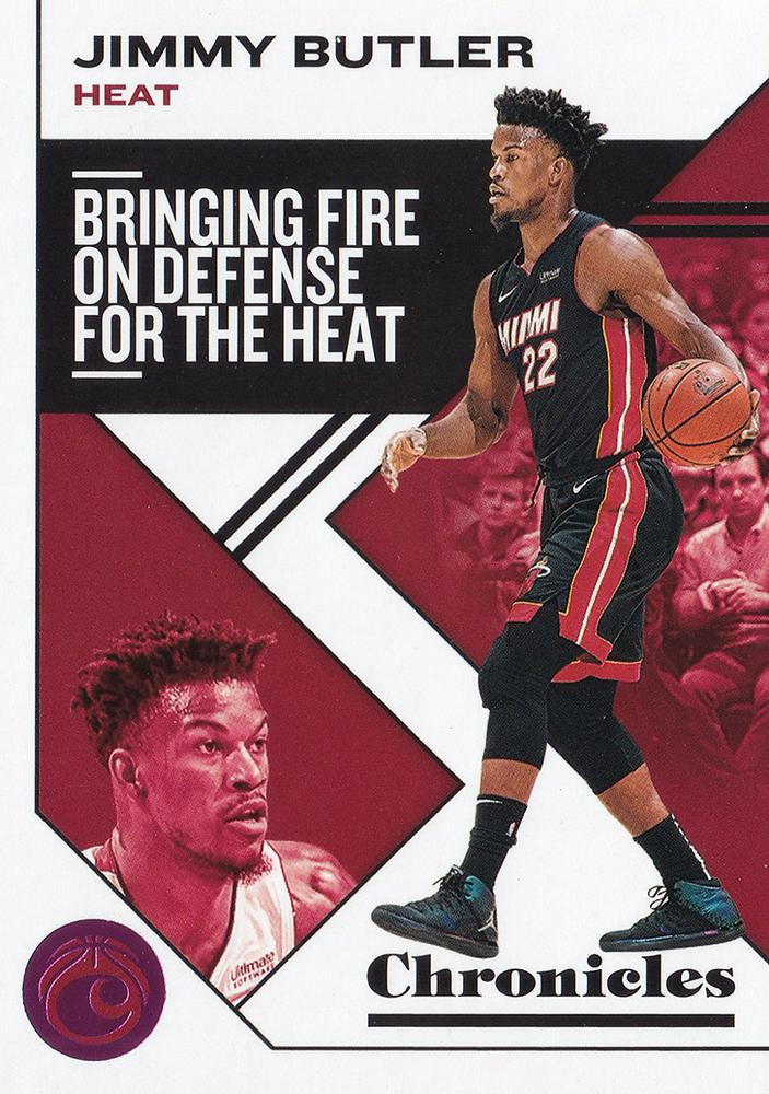 2019-20 Panini Chronicles Basketball Cards PINK Parallels: #5 Jimmy Butler  - Miami Heat