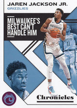 Load image into Gallery viewer, 2019-20 Panini Chronicles Basketball Cards PINK Parallels: #13 Jaren Jackson Jr.  - Memphis Grizzlies