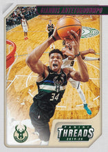 Load image into Gallery viewer, 2019-20 Panini Chronicles Basketball Cards PINK Parallels: #96 Giannis Antetokounmpo  - Milwaukee Bucks