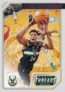2019-20 Panini Chronicles Basketball Cards PINK Parallels: #96 Giannis Antetokounmpo  - Milwaukee Bucks