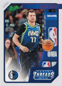 2019-20 Panini Chronicles Basketball Cards PINK Parallels: #100 Luka Doncic  - Dallas Mavericks