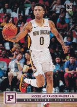 Load image into Gallery viewer, 2019-20 Panini Chronicles Basketball Cards PINK Parallels: #122 Nickeil Alexander-Walker RC - New Orleans Pelicans